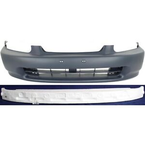 Bumper Cover Kit For 96 98 Honda Civic Front 2pc
