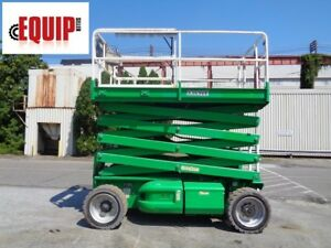 2008 Jlg 3369le Electric Scissor Man Aerial Boom Lift 33 Ft Height 487 Hours