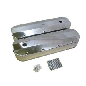 Polished Fabricate Aluminum Valve Cover 396 427 454 502 Tall Bbc Big Block Chevy