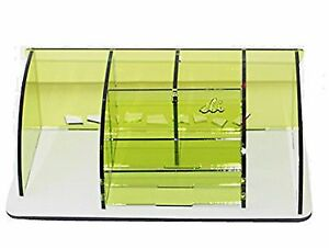 Essential Office Supply Organizer Storage Box Stationery Desk Acrylic Container