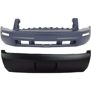 Bumper Cover For 2005 2009 Ford Mustang Without Fog Light Holes Primed