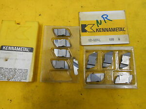 10 Kennametal Nr4094l Indexable Carbide Grooving Inserts Lathe Tool Top Notch