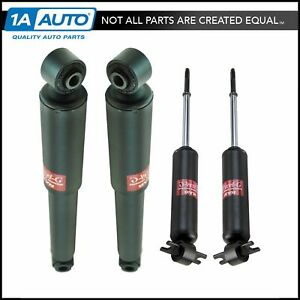 Kyb Excel g Front Rear Shock Absorber Lh Rh Set Of 4 For 63 82 Chevy Corvette