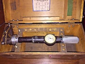 Standard Bore Gage No 6 In Case 6 0 12 12