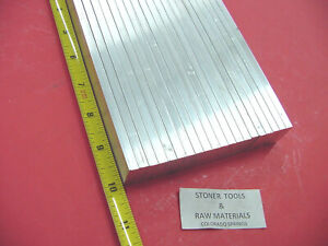 22 Pieces 3 8 X 3 4 Aluminum 6061 Flat Bar 10 Long T6511 375 New Mill Stock