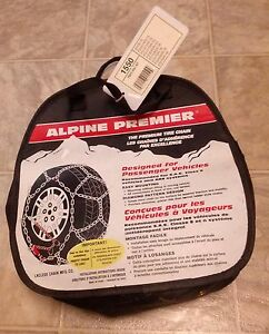Laclede Alpine Premier 1550 Diamond Tire Snow Chains