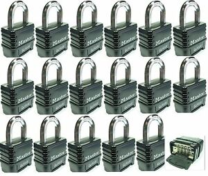 Combination Lock Set By Master 1178d lot 17 Resettable Weather Sealed Carbide
