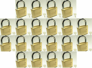 Lock Brass Master Combination 175 lot 20 4 Dial Resettable High Security