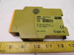 Pilz Pnozx2 1 Ident No 774306 24vacdc 2s Safety Relay