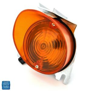 1970 El Camino Park Lamp Assembly Complete With Amber Lens Each Lh Or Rh