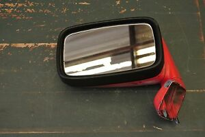 1980 Porsche 928 944 Left Side View Mirror Red 92873102304