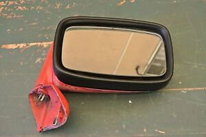 1980 Porsche 928 944 Right Side View Mirror Red 92873102404