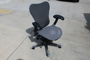 High End Herman Miller Mira Office Chair In Graphite Gray Brand New