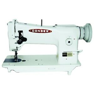 New Consew 206rb 5 Upholstery Sewing Machine With Kd Stand And Clutch Motor