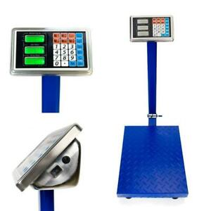 New Heavy Duty 300kg 660lb Industrial Platform Postal Weighing Scales Yz 910