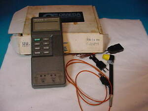 Fluke 52 K j Thermometer With Probe 200 C To 1370 C