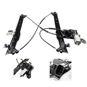 Rear Driver Side Window Regulator With Motor For Chevy Silverado Pickup 00 07