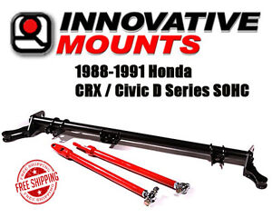 Innovative Traction Bar 1988 1991 Honda Crx Civic D Series Sohc Ef In Stock Now