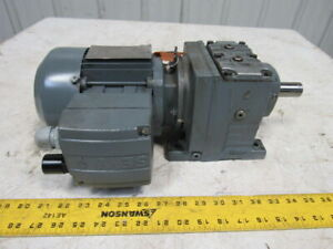 Sew Eurodrive R37 Dt71c4 tf is 3 Phase 1720 Rpm 227 480v 60hz Gear Motor
