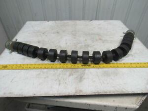 Crouse Hinds Co Limberoller Flexible Conveyor Idler Roller For 42 Belt 3 3 8 O