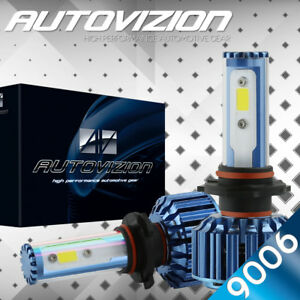 Autovizion Led Hid Headlight Kit 9006 White 1999 2006 Chevrolet Silverado 1500