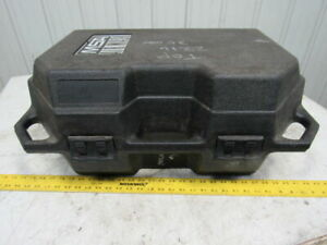 Msa Air Mask Empty Storage Case Container For Self Contained Breathing Apparatus