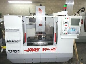 Haas Vf 0e Cnc Vertical Machining Center will Ship Item At Your Expense