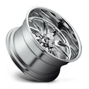 20x8 Us Mag Rambler U110 5x4 75 Et1 Chrome Wheel 1