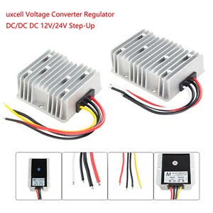 Voltage Reducer Converter Regulator Dc 12v 24v Step up To 48v 3a For Golf Cart
