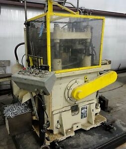 40 Ton Yoder 4 post Cut off Press p40 Roll Forming Planet Machinery 5172