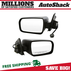 Power Side Mirror Pair For 2004 2007 2008 2009 2010 2011 2012 Mitsubishi Galant