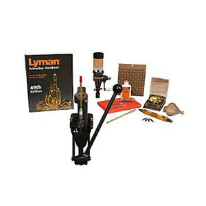 Lyman Crusher Master Reloading Kit w1500 Micro-Touch Scale 7810281
