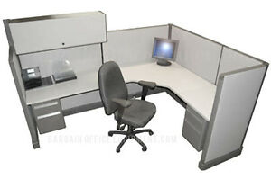 6x8 Herman Miller Medium Wall Office Cubicles With Your Fabric Paint Choice