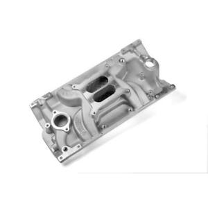 Weiand Intake Manifold 8121 Street Warrior Satin For Chevy 5 0 5 7l Vortec