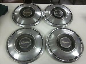 1968 1969 Chevy Caprice 14 Hubcaps Wheel Covers Set Of 4