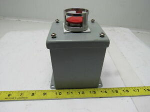 Mead Ltv es 2 Way Push Button Pneumatic Operator In Box