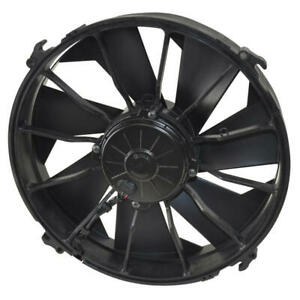Derale Engine Cooling Fan 16924 High Output Single Rad 12 Single Electric