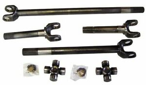 1973 1979 F 150 78 79 Bronco Chrome Moly Axle Shaft Kit Dana 44 W 760x U Joints