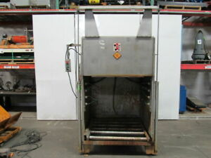 Mtc Wca ss Industrial Automatic Battery Wash Cabinet For Forklift Batteries