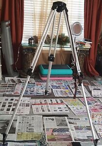 Hixon Tripod Alum Adj 5 8 X 5 Heavy Duty Cst With Bag Actual Pictures In Ad