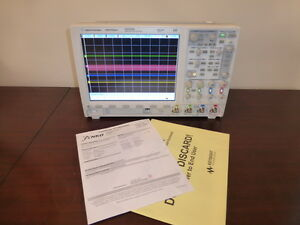 Agilent Keysight Dso7034b 350mhz 4 Analog Ch Digital Storage Oscilloscope Cal d
