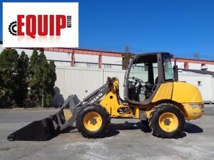 Volvo L25b p Wheel Loader Skid Steer 4x4 Diesel Quick Attach