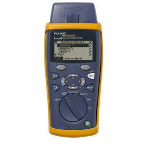 Fluke Networks Ciq 100 Cableiq Qualification Tester Speed Testing Twisted