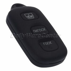 3 Button Replacement Key Keyless Remote Shell Pad Cover Fob Case For Toyota Rav4
