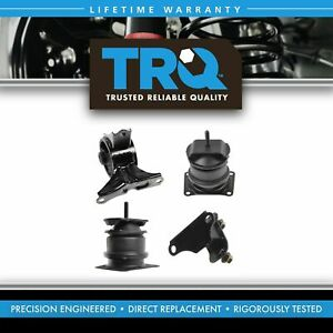 Engine Motor Manual Transmission Mounts Set Of 4 For Honda Accord Acura Tl