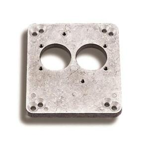 Holley Carburetor Adapter Plate 17 41 Aluminum 2bbl Pro jection Spread Bore