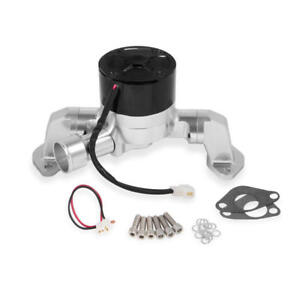 Frostbite Water Pump 22 127 40 Gpm Black Billet Aluminum For Ford 302351w Sbf