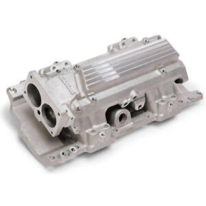 Edelbrock Intake Manifold 7107 Rpm Air Gap Short Runer Tunnel Ram Satin For Lt1