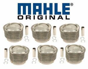 For Porsche 911 2 7l H6 1974 1977 Set Of 6 Engine Pistons Cylinders With Rings