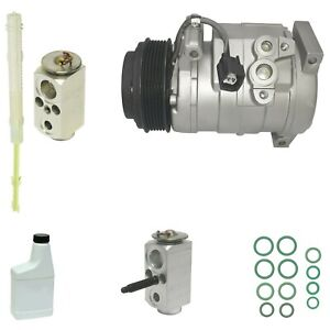 Ryc Reman Complete A C Compressor Kit Aeg313 With Rear A C